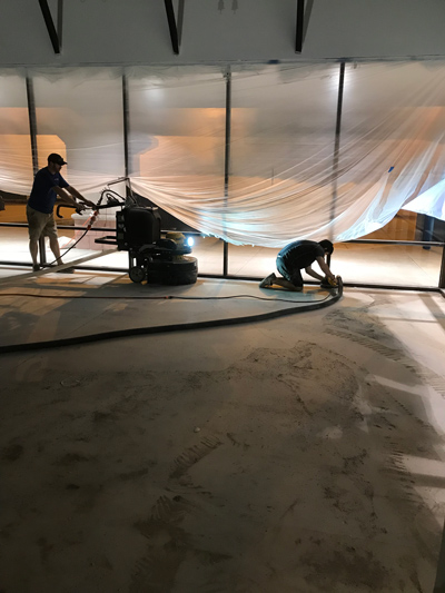 Commercial Concrete Grinding and Prep
