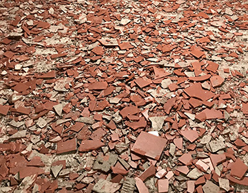 Houston TX Dust Free Tile Removal