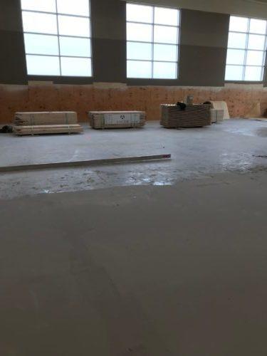 Flatness of the Flooring Install