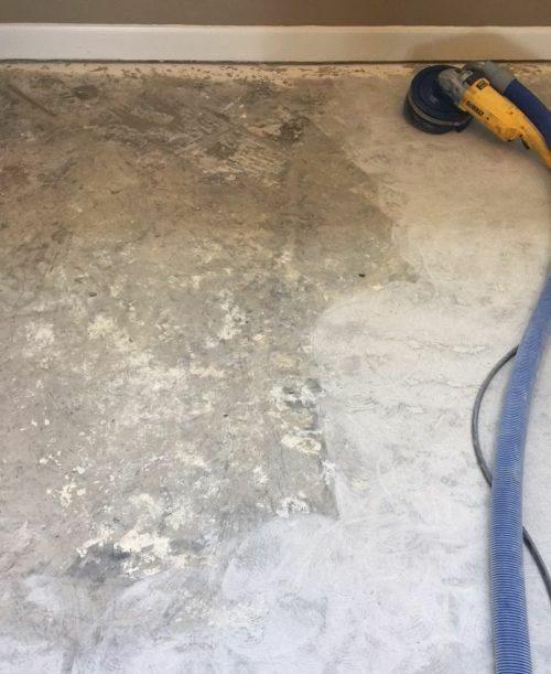 concrete scarification for better bonding