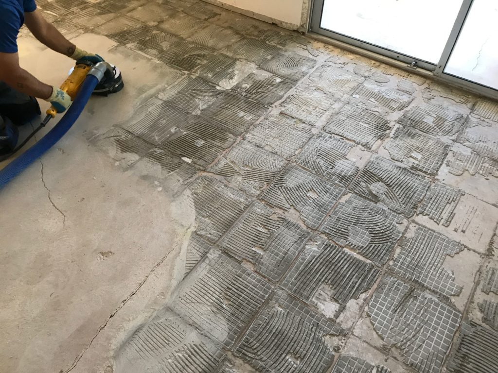 tile removal companies in Houston